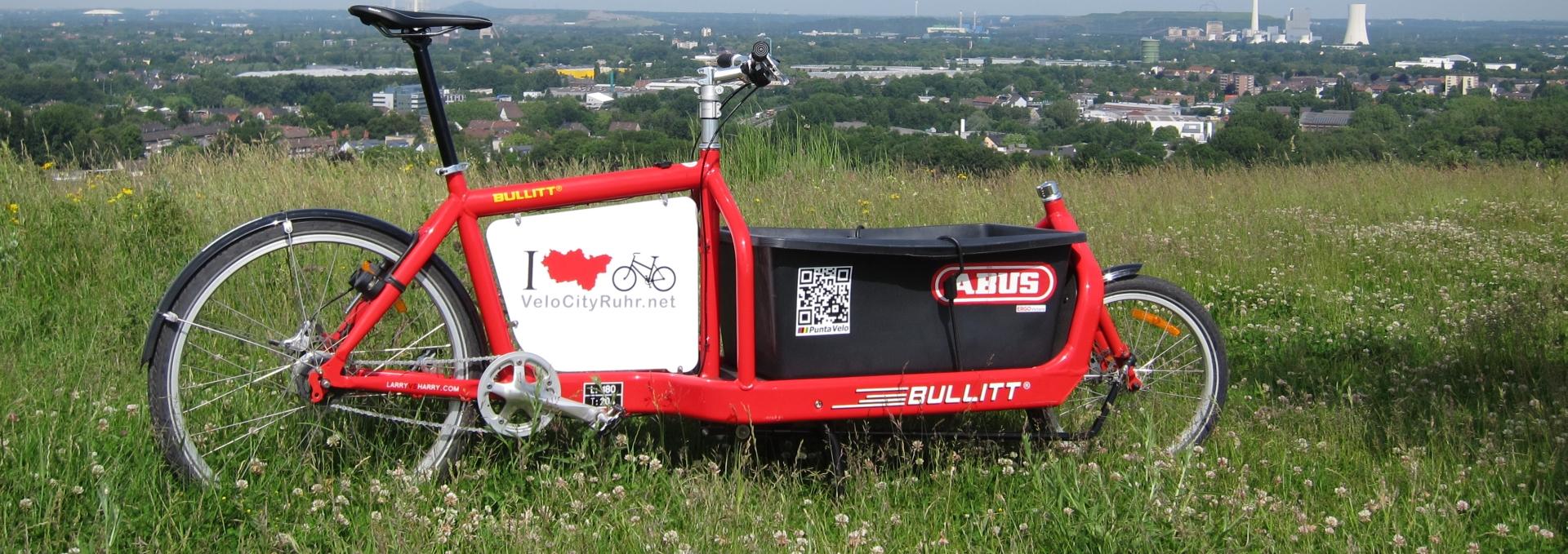 Lastenräder im Ruhrgebiet